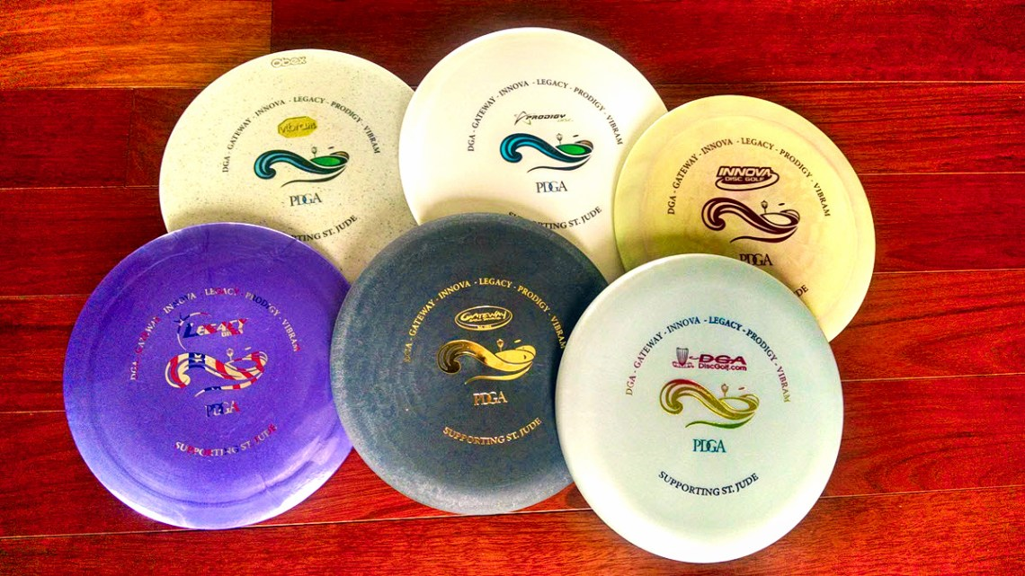 st. jude unity disc golf discs