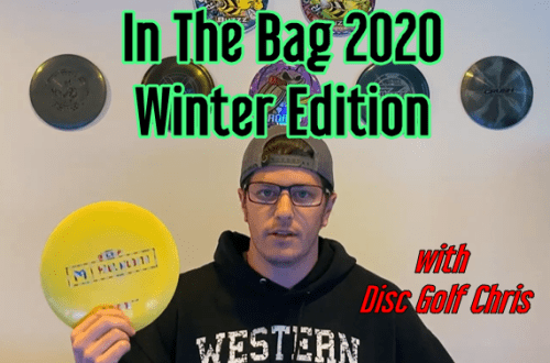 Winter disc golf discs