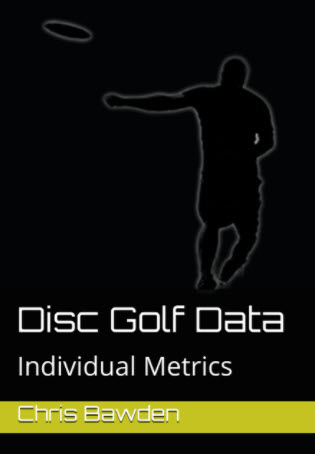 Disc Golf Data Book Cover