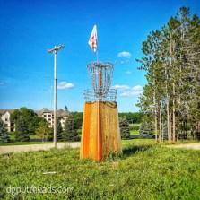 Boyne Mountain Disc Golf hole 18