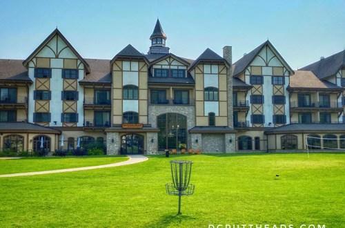 Boyne Mountain disc golf course
