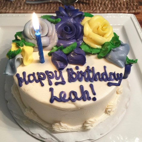 Happy Birthday Leah A Little Bit About A Lot Of Things A