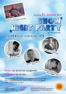 Snow Night Party Hildesheim 2015