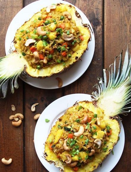 简单易煮菠萝食谱