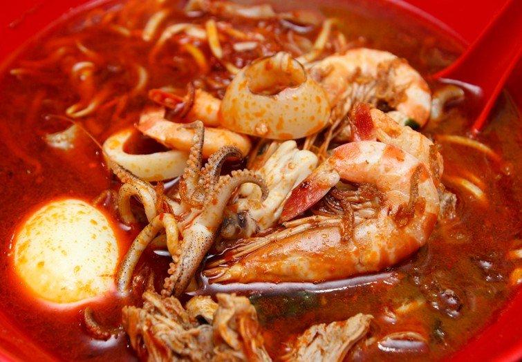 槟城虾面食谱