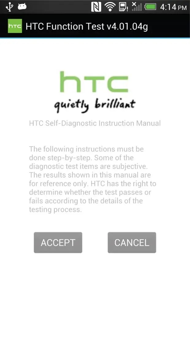 // como acceder al menú de diagnósticos en tu móvil HTC