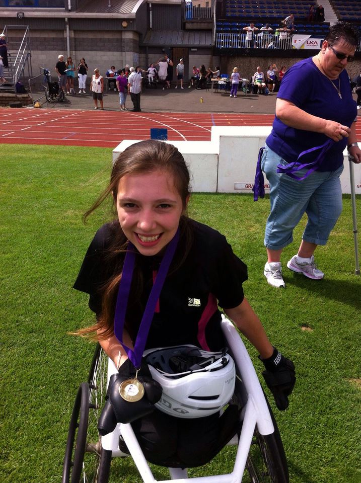 wheelchair marathon dining chair seat covers india johnstonebridge teenage athlete to race in first - dgwgo