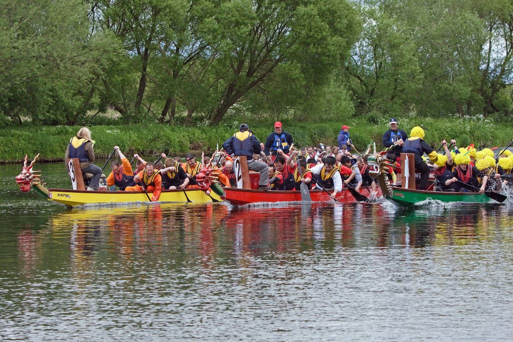 River Nith Dragon Boat Race Huge Success Despite Weather