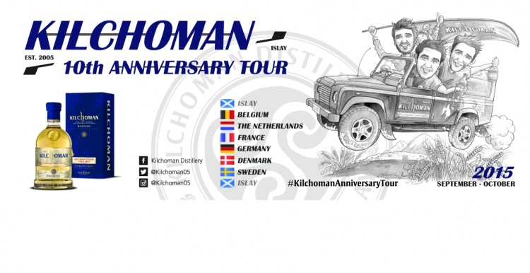 Kilchoman on Tour banner 2015
