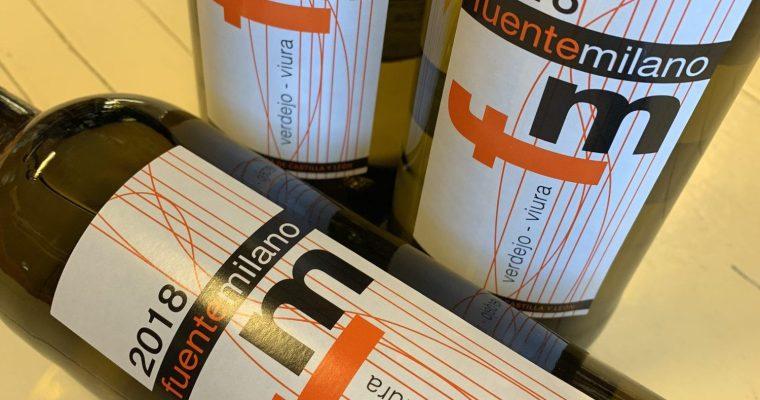 Wijn gemaakt van de  Verdejo druiven, buitengewoon!