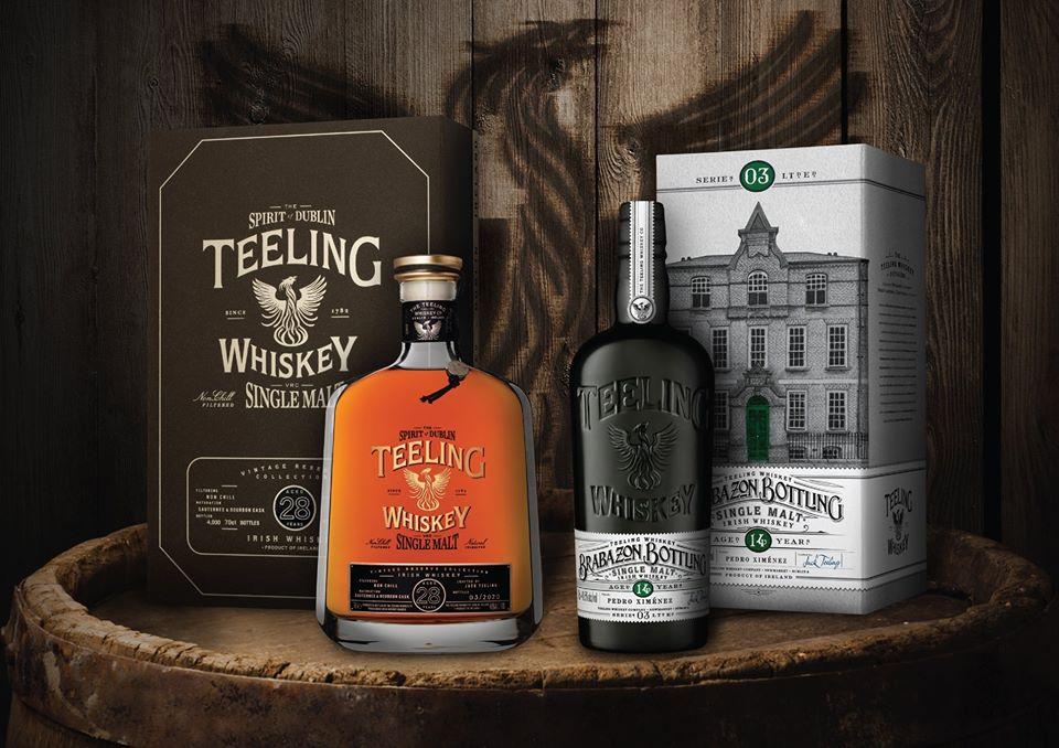 3 Nieuwe Teeling Whiskey's gelanceerd!