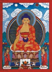 Buddha by Otgonbayar Ershuu