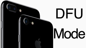 How to Put Your iPhone in DFU Mode