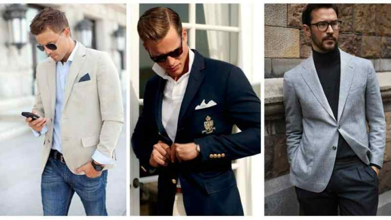 Why a blazer and T-shirt combination is the perfect smart casual look.