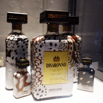 The #DisaronnoWearsCavalli bottles!
