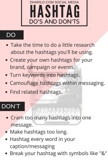DhariLo - Hashtags dos and donts