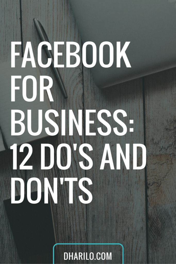 Are you making any of these mistakes on your #Facebook #business page?