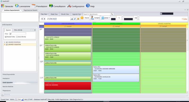 software per la sanità - esempi