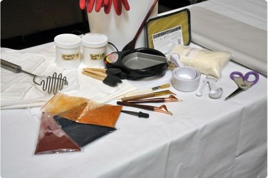 Basic Wax And Tub Dye Method