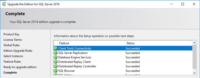 check sql server license key