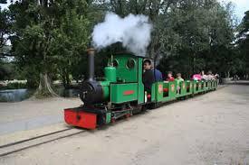 poole holidays park railway