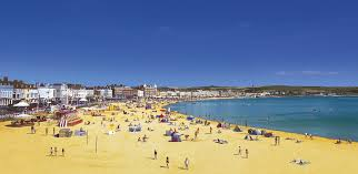 Weymouth beach in Dorset