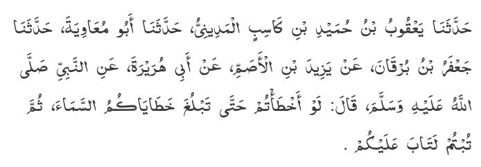 Sunan Ibn Majah 4248