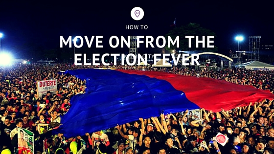 How to Move on from The Election Fever
