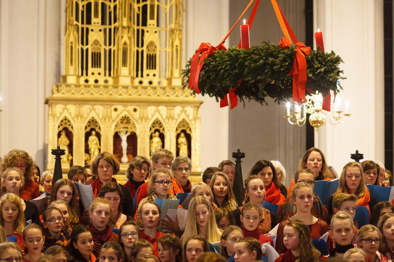 Weihnachtskonzert 2014 des Gymnasiums am Wall im Verdener Dom