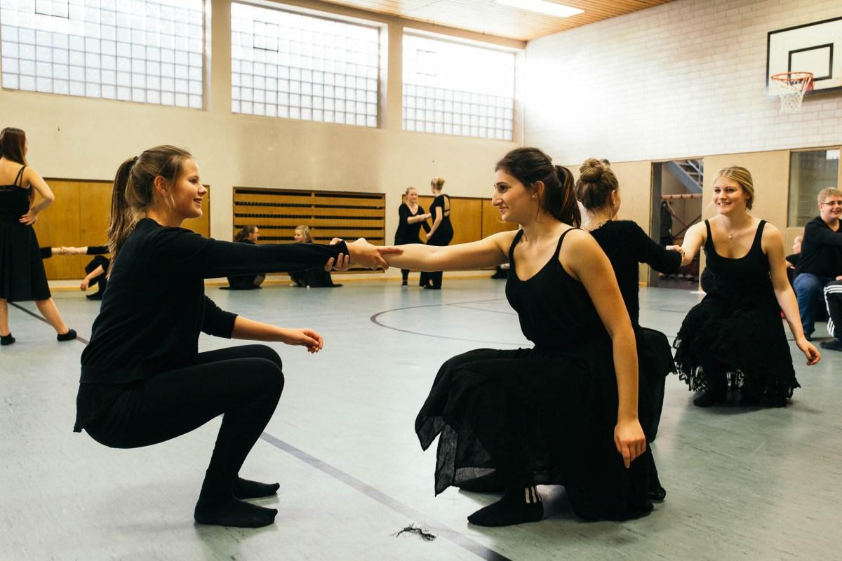 """Proben zu """"Tanz macht Schule"""" im Gymnasium am Wall Verden"""