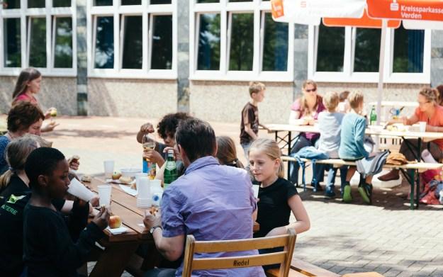 Plattdeutscher Schultheater-Tag im Gymnasium am Wall Verden