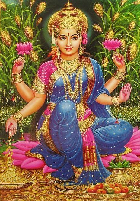 Dhanya Lakshmi Gayatri Mantra - Dhevee org