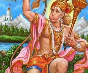 Shri Hanuman Ashtottara Shatanamavali (108 Names Of Lord Hanuman)