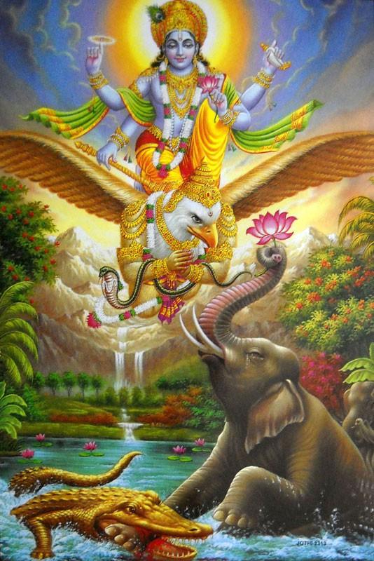 Garuda Gayatri Mantra - Dhevee org