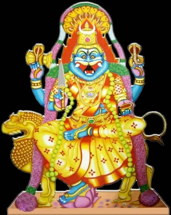 Goddess Pratyangira Devi can also be worshiped by chanting the Pratyangira Devi Maha Mantra. | www.dhevee.org