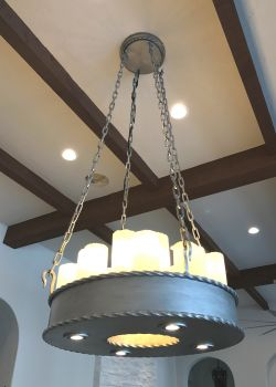 ornamental hand forged lighting d
