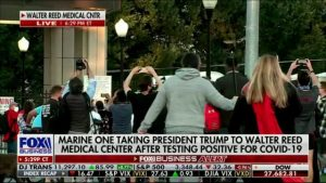 Dhillon on President Trump Testing Positive for COVID-19 and Arriving at Walter Reed Medical Center (Part 1)