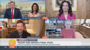 Dhillon on Good Morning Britain to Discuss 2020 Elections