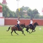 Visit to Maharaja Ranjit Singh Punjab Police Academy, Phillaur. Tent pegging demonstration