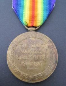 Victory Medal-Ram Singh