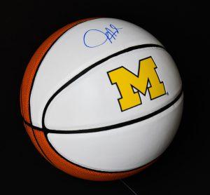 Autographed UofM Basketball
