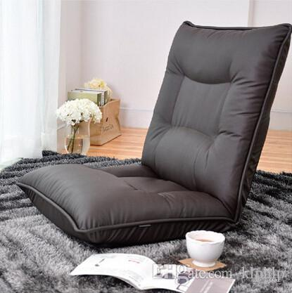 2021 Leather Chair Modern Floor Available Living Room Comfy Lounge Recliner Modern Fashion Leisure Tatami Floor Lounge Chair Bed From Klphlp 50 26 Dhgate Com