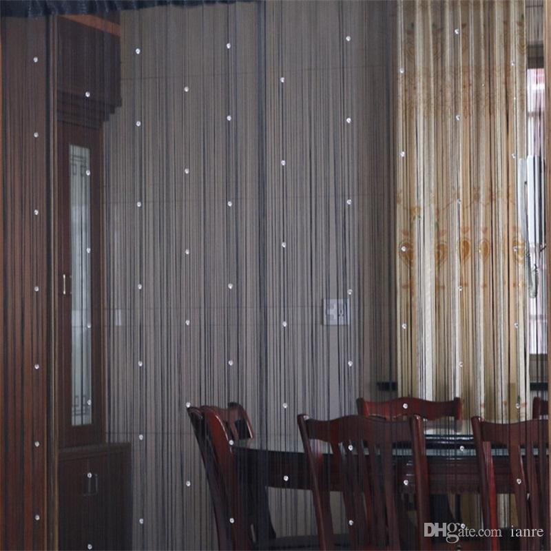 window curtains crystal beads