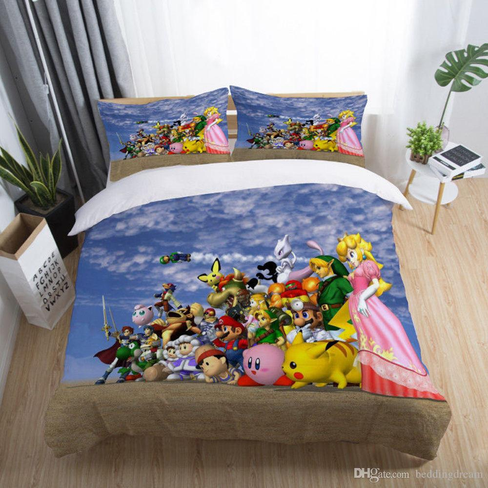 X is a mario fangame where you can create and play your own super mario levels. Cartoon Character Comforter Sets Off 64