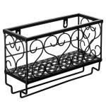 2020 Small Storage Wine Rack Shelf Wrought Iron Wall Hanging Racks For Goblet Kitchen Storage Holder Racks Shelfs Style Random T200320 From Chao10 17 19 Dhgate Com