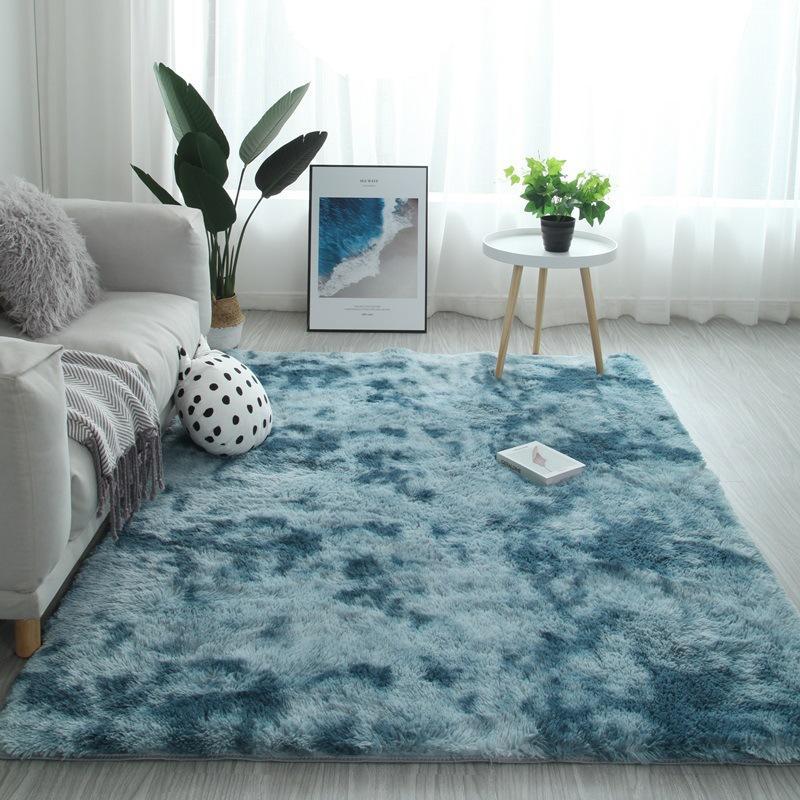 acheter gradient solide tapis tapis epais antiderapant tapis de bain tapis pour le salon doux fluffy enfant chambre tapis rose alfombra de 17 39 du