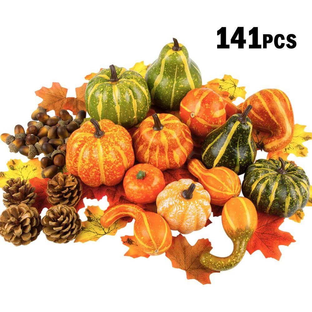2020 Artificial Pumpkins Gourds Decoration Artificial Vegetables For Fall Craft Thanksgiving Wedding Centerpieces Halloween Party Favor Dec570 From Ls Crystal 19 1 Dhgate Com