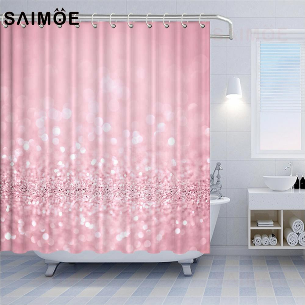 2021 valentines day shower curtains red