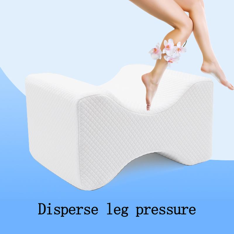 memory foam knee pillow leg pillow for