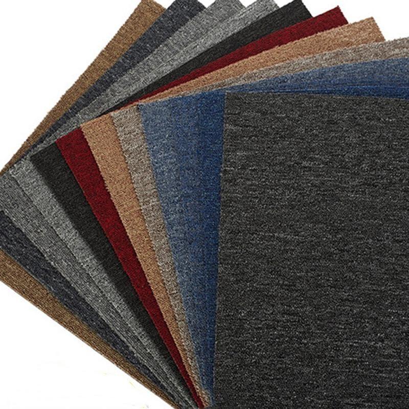 acheter en gros 20 pouces non slip tapis tapis bureau splice tapis solide couleur tapis pour hotel salle de billard pvc tapis de sol cuisine dh0898 1